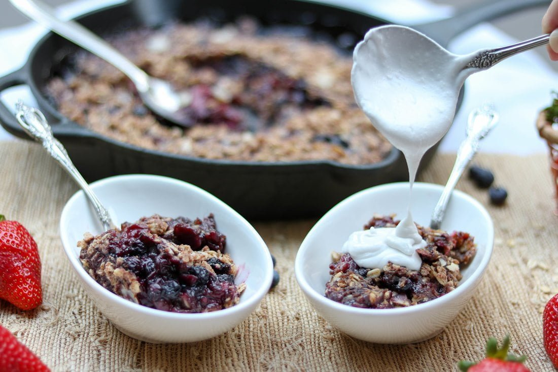 maple-berry-oat-skillet