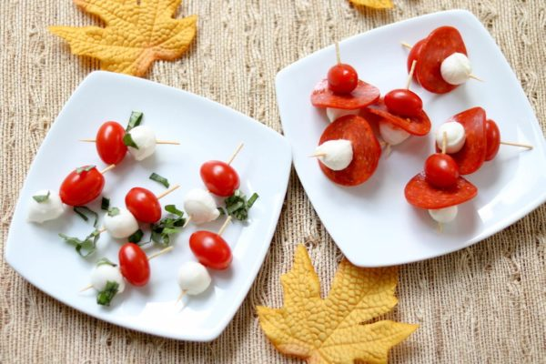 caprese-bites-and-pizza-bites