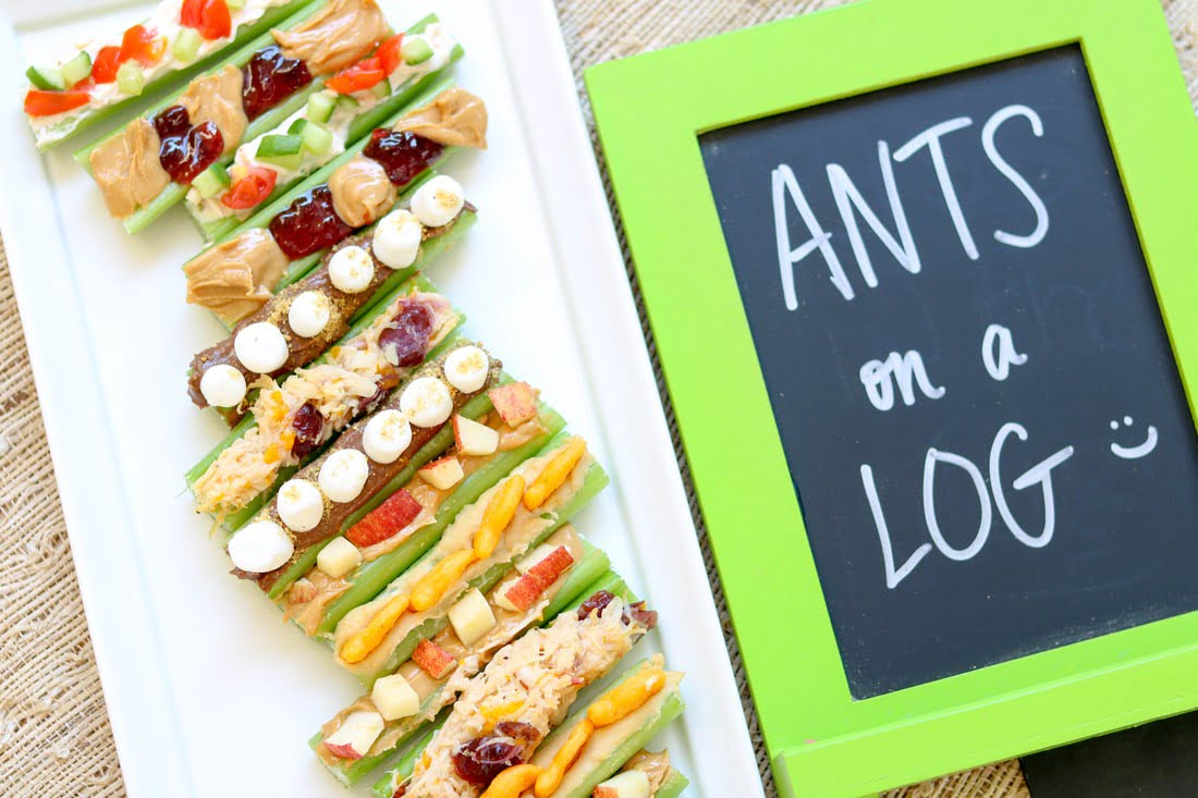 Creative and Fun Ants on a Log Recipes