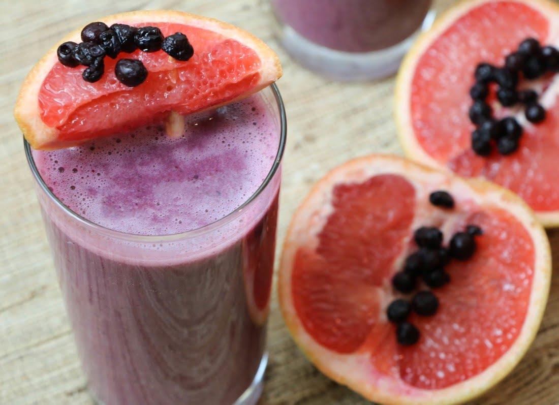 Wild Blueberry Tropical Citrus Smoothie