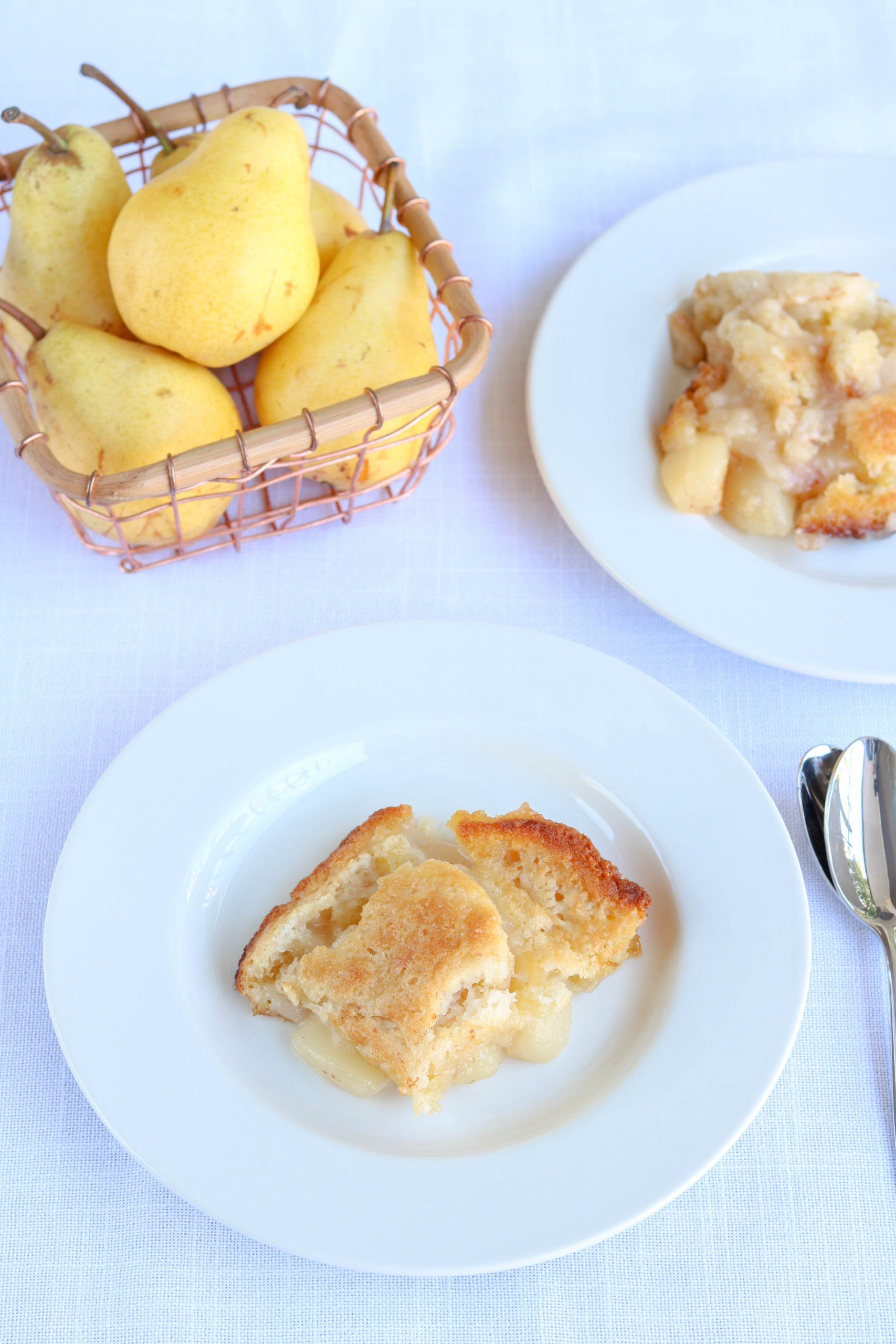 Gluten Free Pear Cobbler