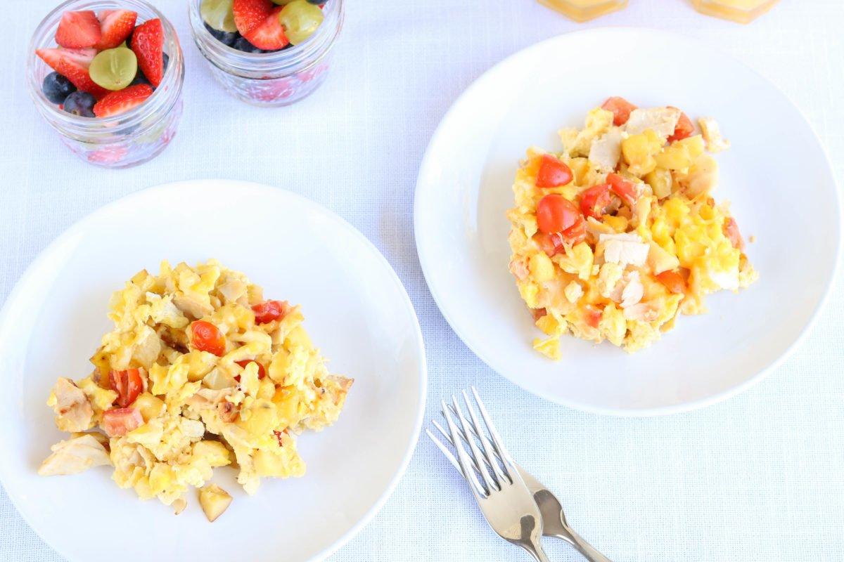 Family Breakfast scramble