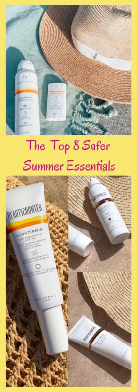 Top 8 Safer Summer Essentials