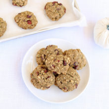 Gluten Free Pumpkin Breakfast Cookies