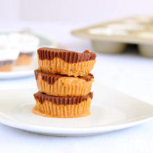 Nut Butter Cups with Hazelnut and almond Butter