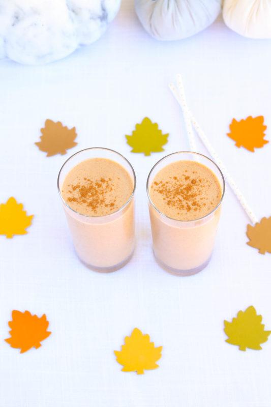 Creamy Pumpkin Spice Smoothie