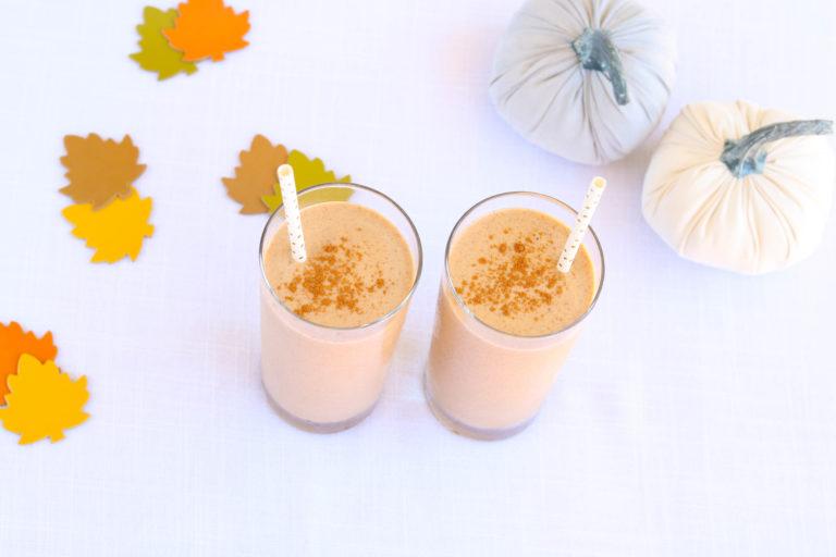 Dairy-Free Pumpkin Smoothie