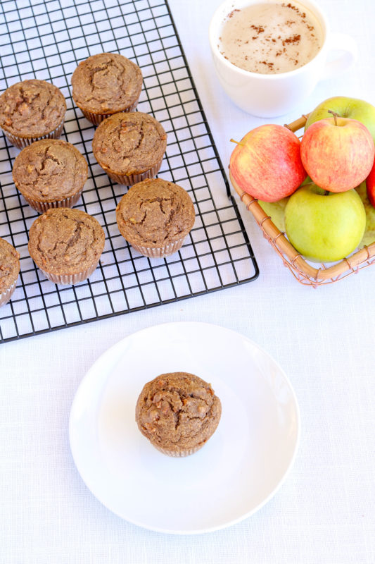 Gluten-Free Chai Spiced Apple Muffins