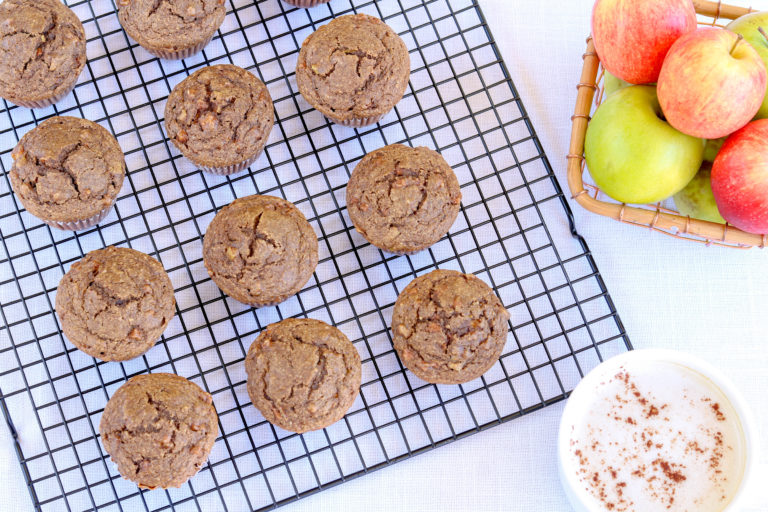 Chai Spiced Apple Muffins