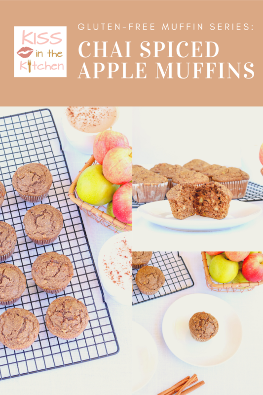 Gluten Free Apple Muffins with Chai Spices