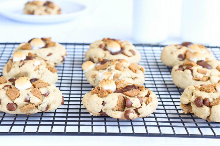 Gluten Free S'Mores Cookies